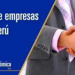 Los principales tipos de empresas en Perú